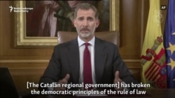 Spain's King Condemns Catalan Separatist Leaders