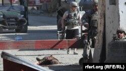 Убиен милитант, кој денеска ја нападна базата на НАТО во Кабул