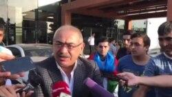 Ramin Musayev jurnalistlərlə danışıb