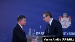 Lajčak u Beogradu: Dijalog Srbije i Kosova ključan za evrointegracije