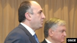 Elmar Məmmədyarov və Edward Nalbandian
