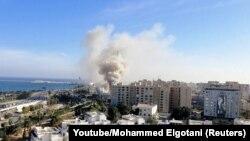 Триполи, Ливия. 25 декабря 2018