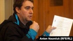 Первый секретарь Саратовского горкома КПРФ Александр Анидалов в суде