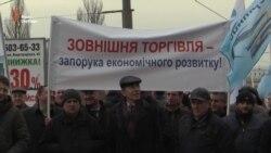 Автоперевізники вимагають відновлення трансферу через Росію (відео)