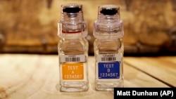 Bočice za uzorke za doping kontrolu, ilustrativna fotografija