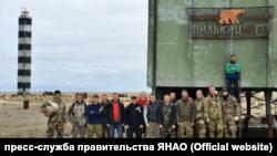 Участники одной из экспедиций на остров Вилькицкого