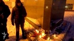 Антифашистская акция в Хабаровске