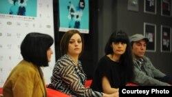 Прес конференција за Скопски филмски фестивал.