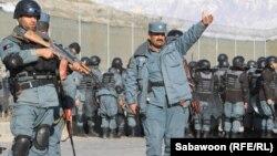 Pjesëtarë të policisë afgane