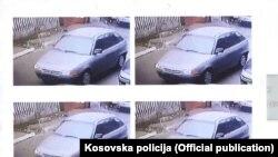 Policija Kosova traži informacije o vozilu