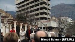 Protesti u Mostaru 19. februara 2014.