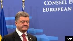 Украина президенті Петр Порошенко Еуропа Одағының кезекті жиынында жүр. Брюссель, 27 маусым 2014 жыл.
