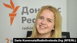 Надежда Киденко, студентка Киевского национального торгово-экономического универистета