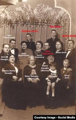 Reconstituirea imaginilor familiilor afectate de pogrom