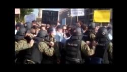 Полицијата го спречи новинарскиот протест