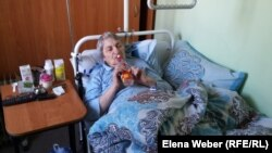 """Пациент мини-пансионата """"Кредо"""" Алевтина Лукьяненко. Темиртау, 27 января 2016 года."""