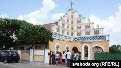 Новы фасад берасьцейскай грэка-каталіцкай царквы