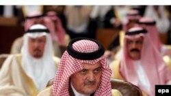 سعود الفیصل، وزیر امور خارجه عربستان.