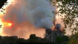 Požar zahvatio katedralu Notre Dame u Parizu