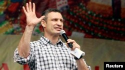 """Given that Vitali Klitschko ran for mayor on a """"clean hands"""" campaign, promising to stamp out corruption -- and given that the transactions involve several of his close associates -- the controversy over Sunny Riviera poses a thorny challenge for the former world heavyweight champion."""