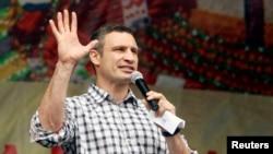 Виталий Кличко, избранный мэр Киева.