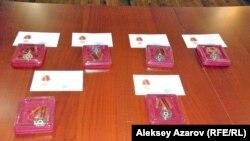 Qazaxıstan- Qələbənin 70 illiyi münasibətilə veteranların mükafatlandırılması
