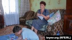 Мать и сын Олега Сенцова