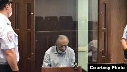 Историк Олег Соколов на заседании по делу об убийстве Анастасии Ещенко