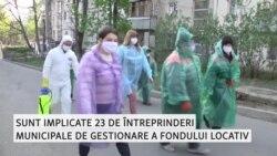 Marea dezinfectare în Chişinău: clorul împotriva coronavirusului