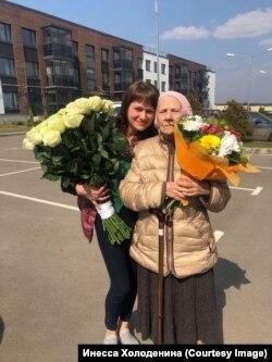 Инесса с бабушкой