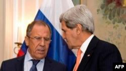 John Kerry və Serge Lavrov