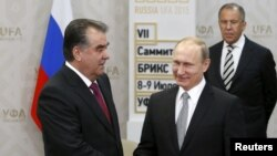 Дидори Раҳмон ва Путин дар Уфа