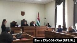 Судебное заседание по делу Адлейба, 14 мая 2018 г.