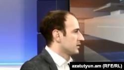 Депутат правящей парламентской фракции «Мой шаг» Сисак Габриелян (архив)
