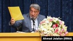 Iran -- Iranian interior minister Abdolreza Rahmani Fazli, speaking in a meeting in Tehran on Monday May 07, 2018.