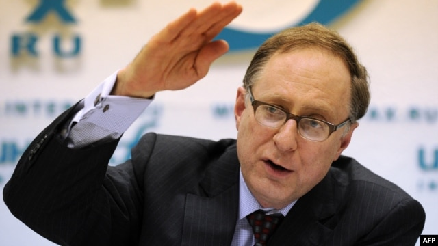 NATO Deputy Secretary-General Alexander Vershbow (file photo)