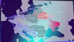 Карта расширения НАТО
