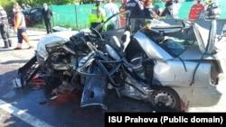 Nistorești, 18 mai 2021. Cinci morți (dintr-o singură mașină) și doi răniți ușor.