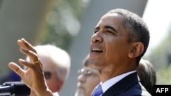 Президент США Барак Обама. Вашингтон, 1 октября 2013 года.