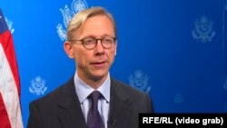 U.S. special representative for Iran Brian Hook (file photo)