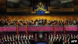Pamje nga një ceremoni e ndarjes së çmimeve Nobel