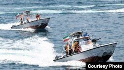 Iran IRGC Speedboats, file photo