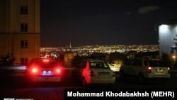 Панорама Тегерана після землетрусу 8 травня