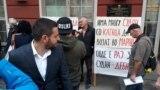 Неформалната организација СТОП ЗА ИЗВРШИТЕЛИТЕ организира протест против законот за извршување, пред Министерство за правда