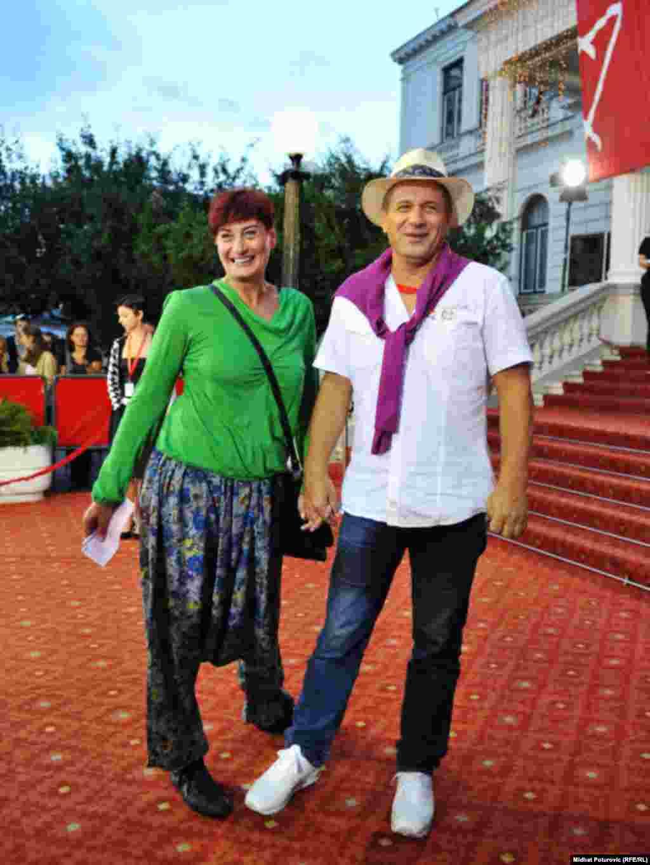 Nedžad Begović sa suprugom Aminom, Sarajevo, 24.07.2011. Foto: RSE / Midhat Poturović