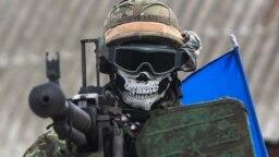 Pe linia frontului în Donețk