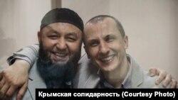 Марлен Асанов (ліворуч) і Сервер Мустафаєв (праворуч), архівне фото