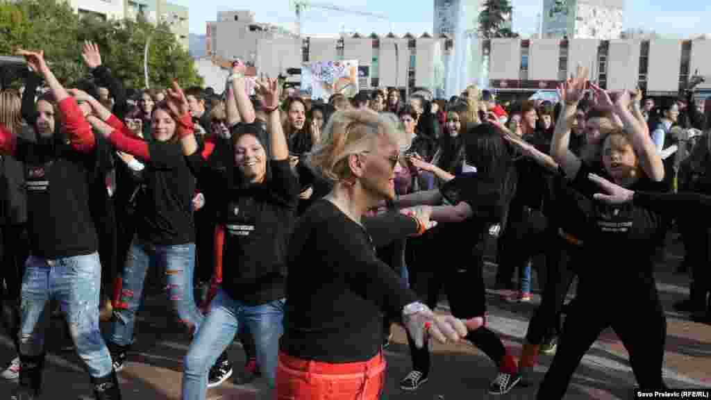 Građani na ulicama u akciji 'Plesom protiv nasilja'