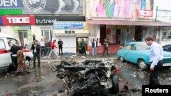 Владикавказда базарда жарылган машина, 2010-ж. 9-сентябры