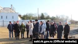 Ветерани на об'єктах ФЦП у Саках